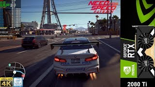 Need For Speed Payback Maximum Settings 4K | RTX 2080 Ti | i9 9900K 5.1GHz