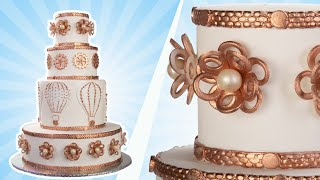 Steampunk Wedding Cake  - YOU'VE BEEN DESSERTED