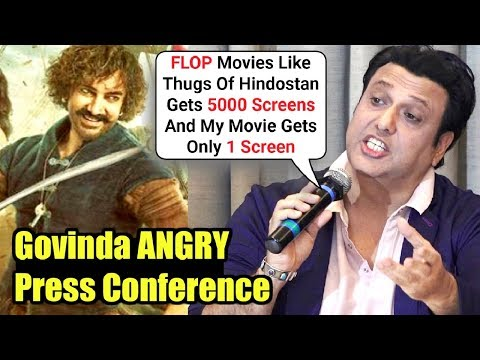 Govinda SLAMS Aamir Khan & Other Actors Indirectly For Ruining His Acting Career!