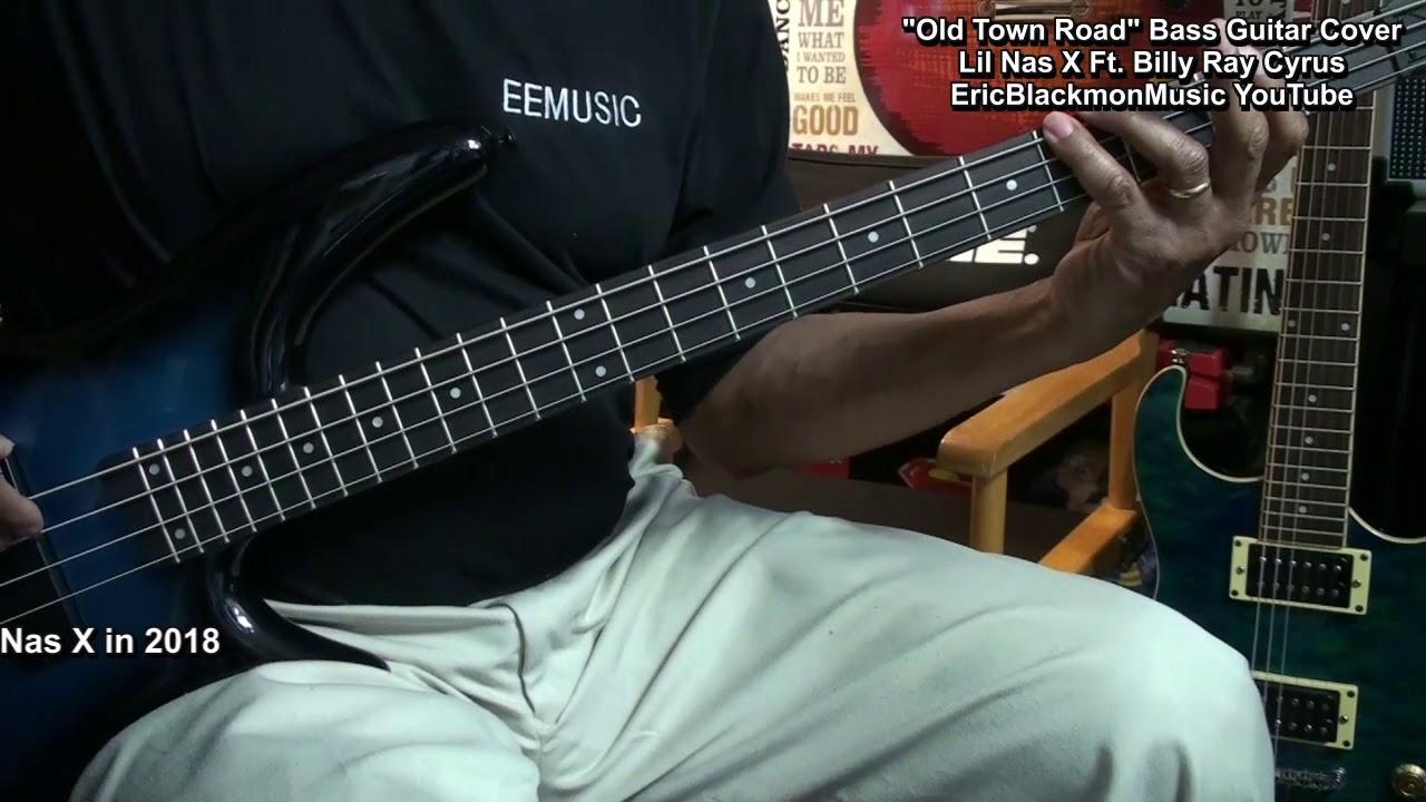 Electric Bass Guitar Cover : old town road electric bass guitar cover lil nas x billy ray cyrus ericblackmonguitar youtube ~ Vivirlamusica.com Haus und Dekorationen