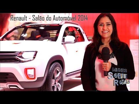Renault Salão 2014 - Picape Duster Oroch, Novo Fluence e Sandero Stepway 2015