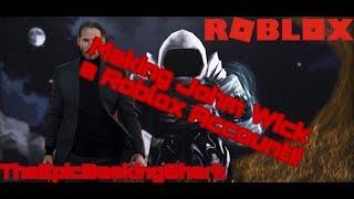 Roblox | John Wick zu einem Roblox-Konto machen!!!!