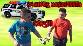 24 HOURS HANDCUFFED TOGETHER RUNNING FROM COPS!