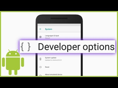 How To Enable Developer Options On Your Android Device Or Emulator (USB Debugging)