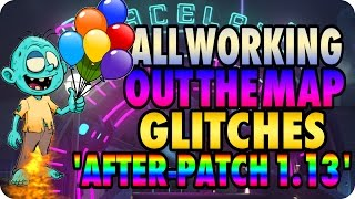 Zombies In Spaceland Glitches: All Working Out The Map Glitches