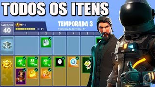 Fortnite-ALL ITEMS of the BATTLE PASS 3