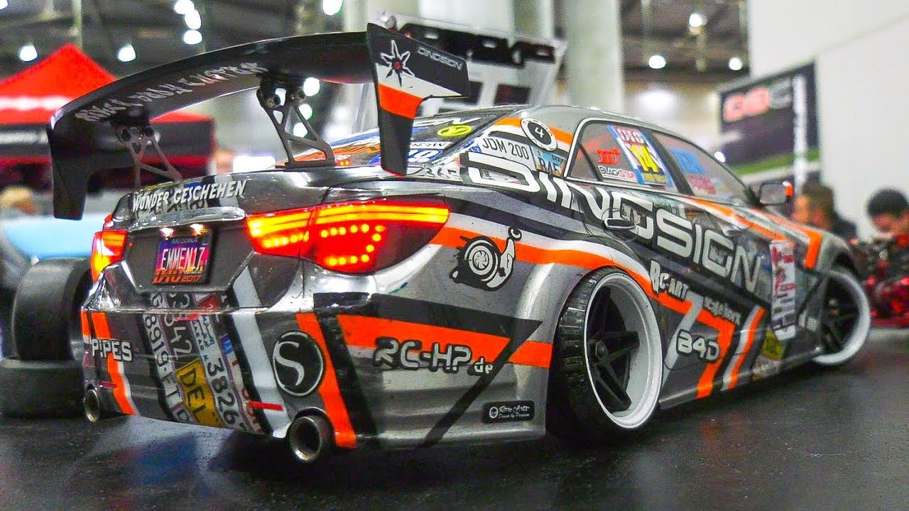 FAST RC DRIFT RACE SCALE CARS IN DETAIL AND MOTION