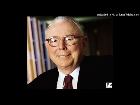 Charlie Munger: On The Value Of Learning, Ethics, Self-Pity, And Hardship