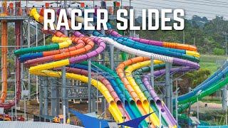 Fast RACER Water Slides Compilation | Dueling Waterslides