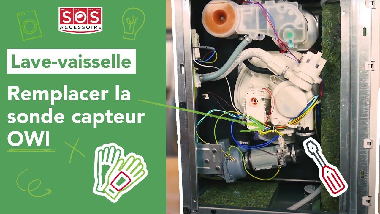 Quel Est Le Temps De Lavage D Un Lave Vaisselle comment remplacer la sonde capteur owi de son lave-vaisselle ?