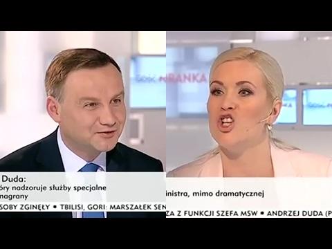 Nie Wiedziała, że Rozmawia Z Przyszłym Prezydentem - Andrzej Duda Vs Agresywna Dziennikarka