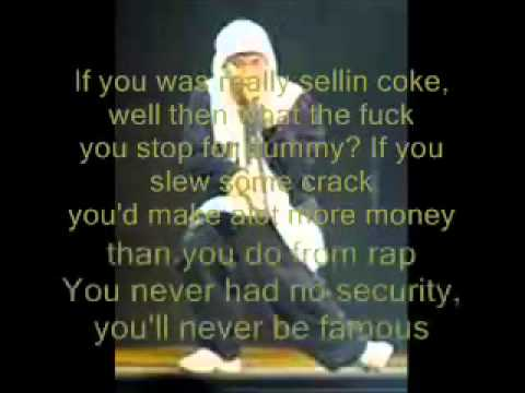 Eminem  Nail in the Coffin Lyrics Vanilla IceBenzino Diss