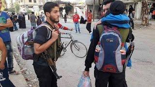 """الكارثة تكبر..معضمية الشام بيد النظام..هل تنتقل """"الباصات الخضر"""" للغوطة الشرقية؟-تفاصيل"""