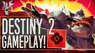 "Destiny 2 Gameplay - First Hour of Destiny 2 Beta Gameplay - ""Arcstrider Hunter Subclass Gameplay"""