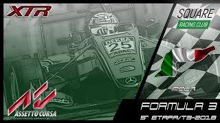 Square Racing Club Formula 3 @ Imola - 5ª Etapa T3/2018