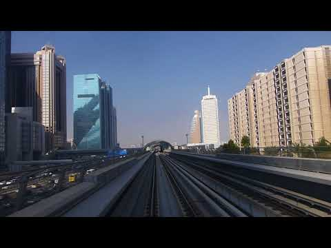 Dubai Metro - World Trade Center to Emirates Towers