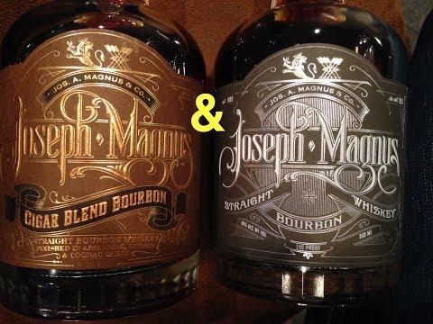 Joseph A. Magnus and Jos Cigar Blend Bourbon Whiskey Review #322