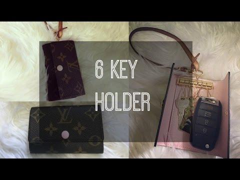 Louis Vuitton 6 Key Holder Review + Hack ! | luxyglamlife