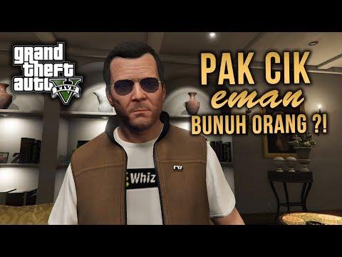 Pakcik EMAN Bunuh Orang ?! - GTA 5 (Malaysia) // GTA 5 Story Mode Walkthrough Gameplay #3