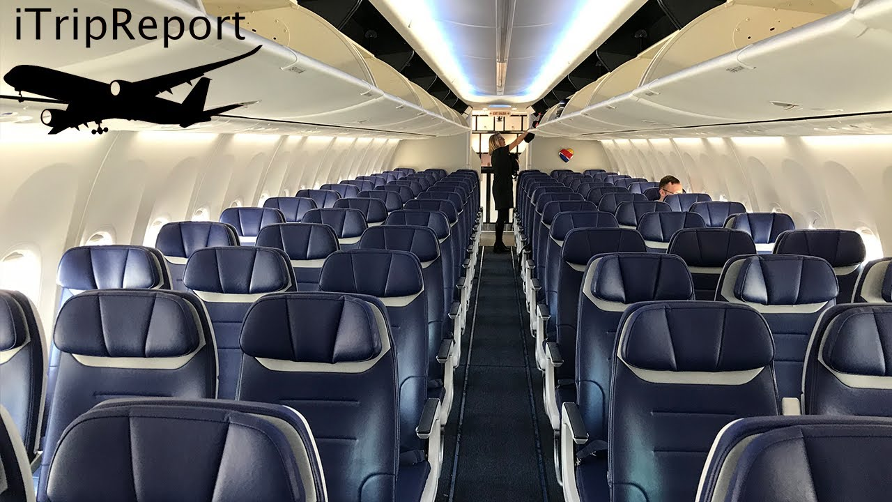 South West Boeing 737 Seating Chart