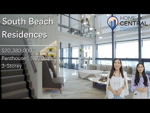 Touring A $20million Luxury Penthouse With Private Infinity Pool & Views Of Marina Bay |Home Central