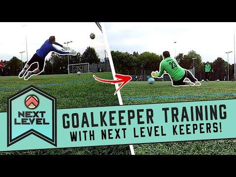 Goalkeeper training session! #1