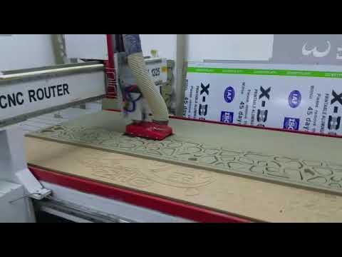 Israel Customer 1325 Cnc Wood Cutting Work