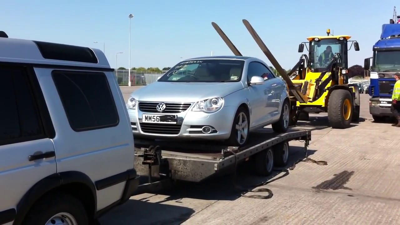Collection Of Car From Copart Deeside Chester By Zoom Vehicle Delivery