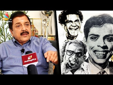 Sivakumar Interview about unique Paintings and Drawing | Nagesh, K Balachander, NSK