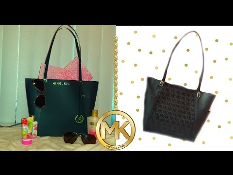 """MK"" Large PAPER PURSE gift bag"