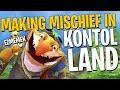 Making Mischief in Kontol Land - Techies DotA 2