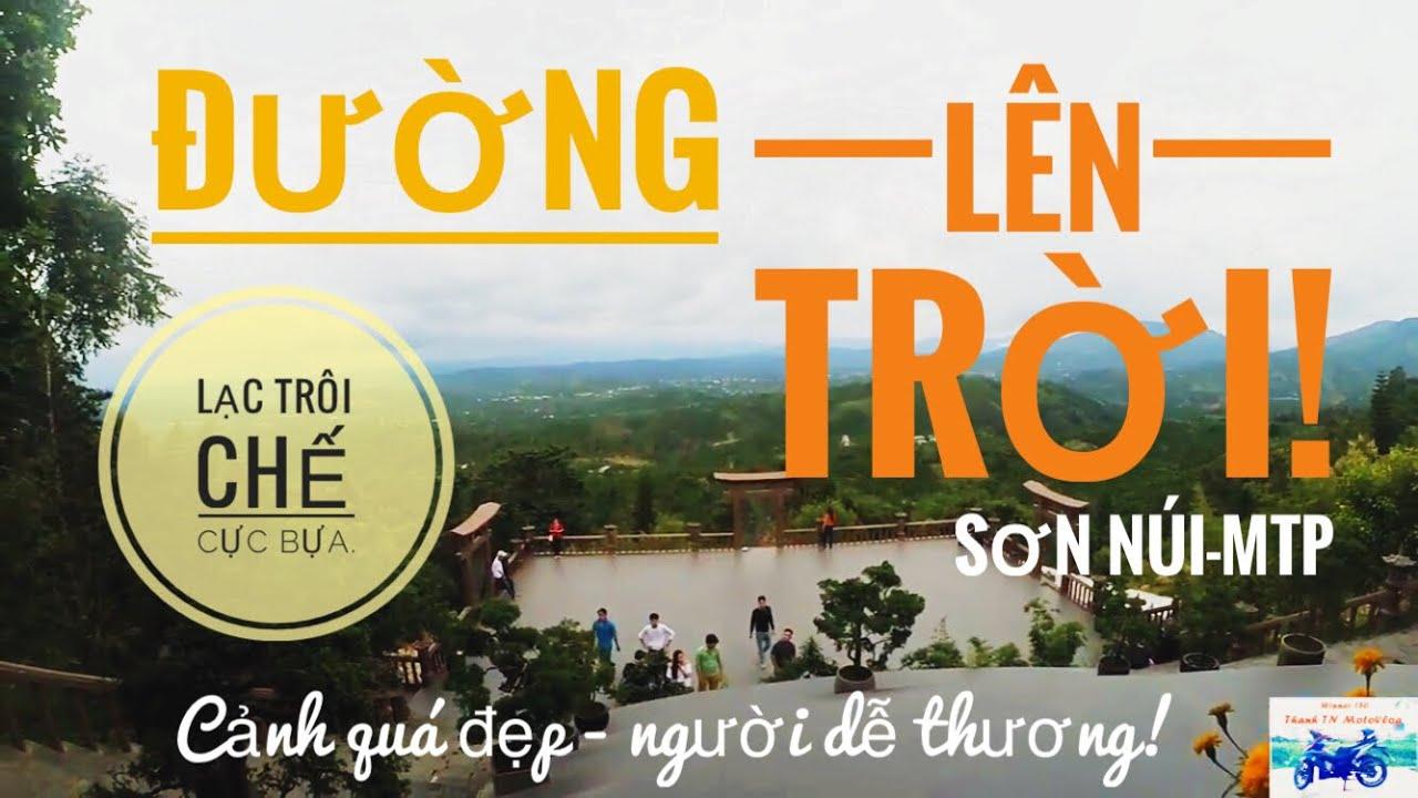 Đường lên Linh Quy Pháp Ấn (Cổng trời) | Phượt Đà Lạt |Winner 150 | Thanh TN Motovlog
