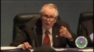 Congressman Bartlett - ET Secrecy Due to Corrupt Special Interests