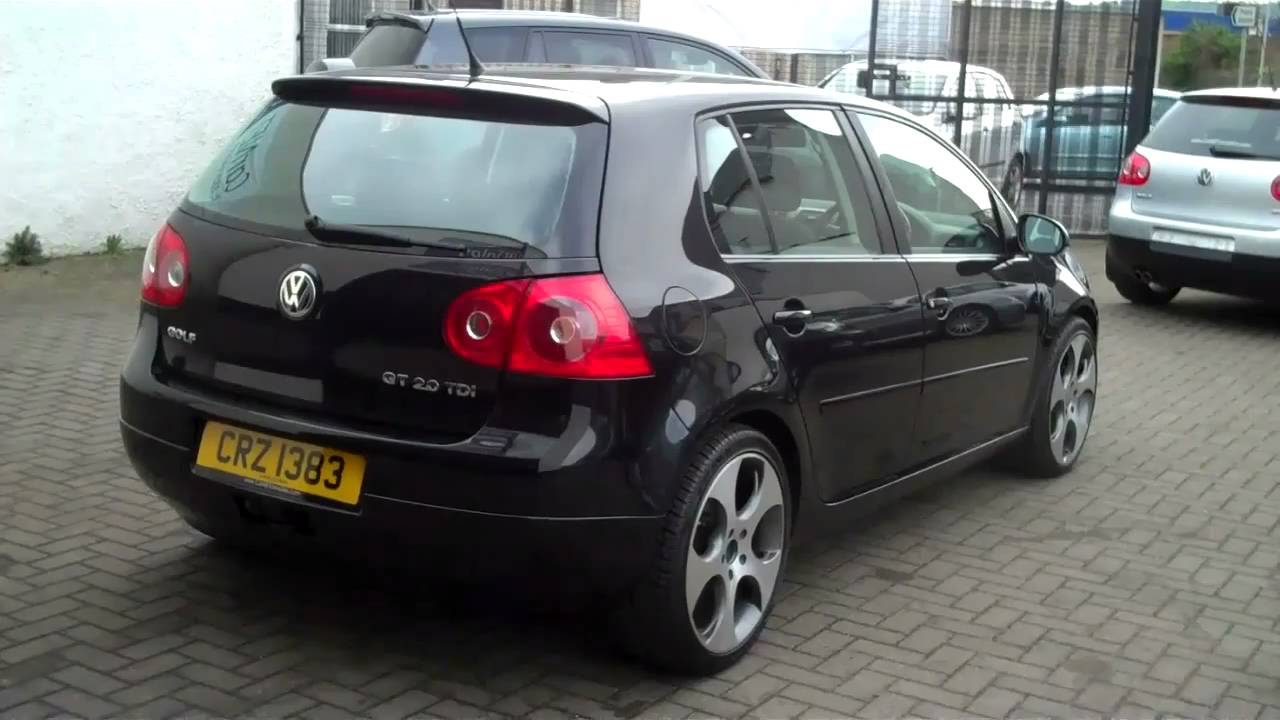2006 vw golf 2 0gt tdi 140 5dr 8 495 youtube. Black Bedroom Furniture Sets. Home Design Ideas