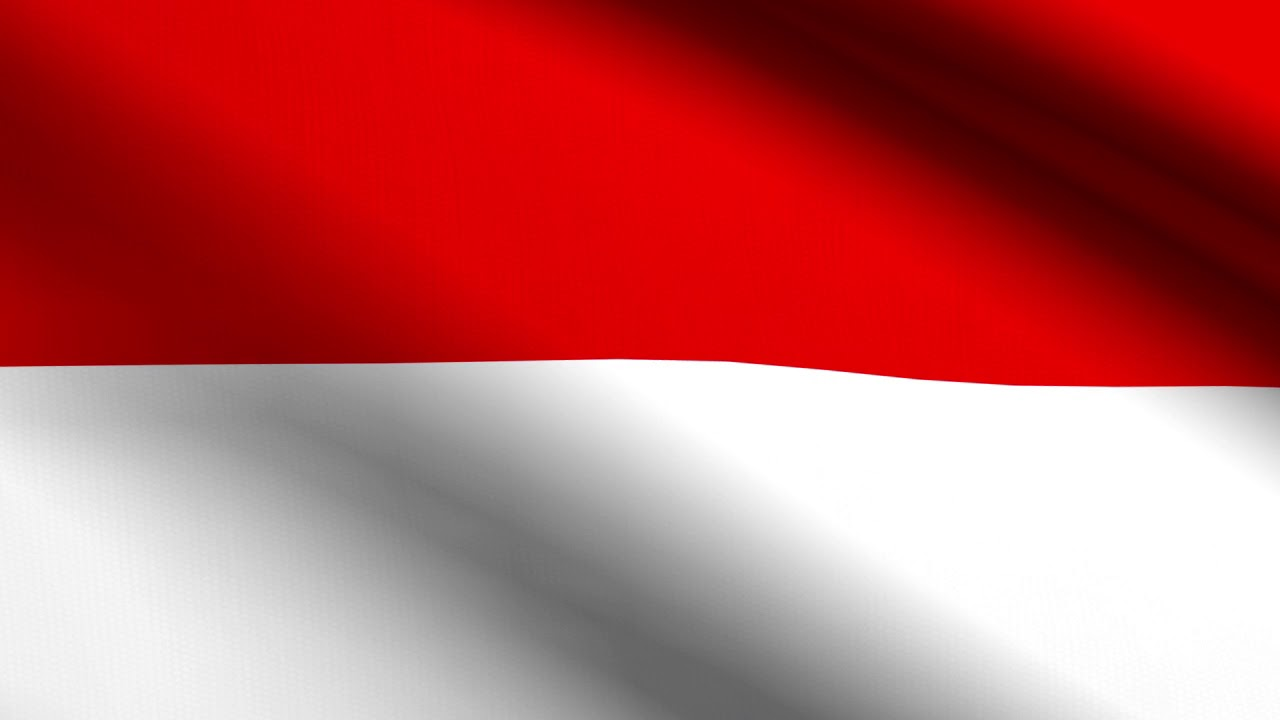 flag of indonesia loop animation youtube flag of indonesia loop animation