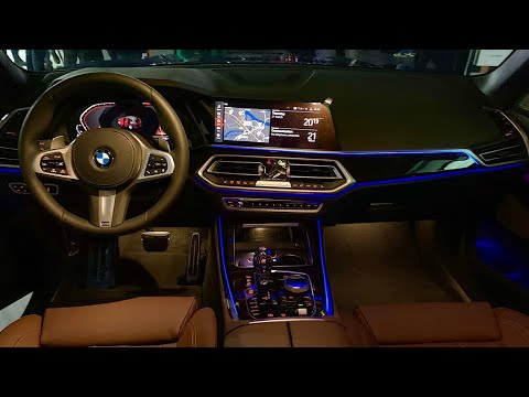 New Bmw X5 2019 Interior In Depth Review M Sport Ambient Lighting Better Than Mercedes Gle