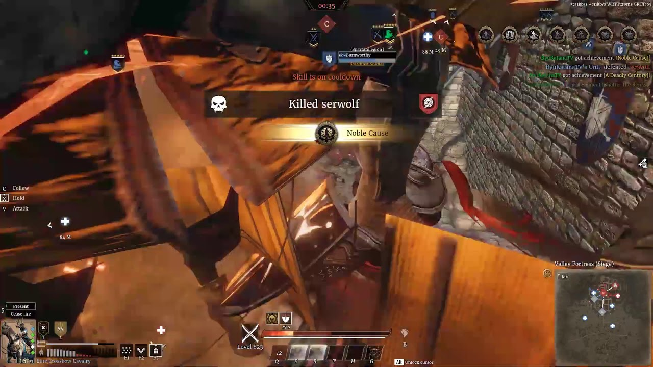 Cavalry High Rank Roblox Conqueror S Blade Dual Blades Euw2 Siege Youtube