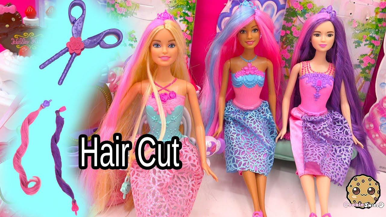 Barbie Girl Doll Wallpaper 3 Endless Hair Kingdom Barbie Dolls Get Clip Extenstions