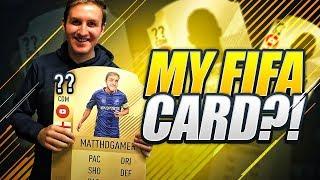 MY OWN FIFA CARD?