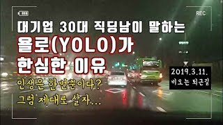 Gambar cover 욜로(YOLO)가 한심한 이유. 한번뿐인 인생? 그럼 제대로 살자  (대기업 30대 직장인의 생각)