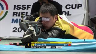 50m Rifle Prone Men Finals - ISSF World Cup in all events 2014, Munich (GER)