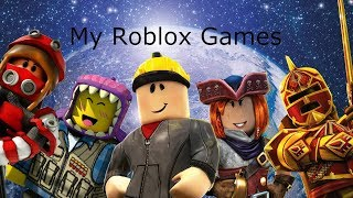 Our Roblox Games + how to make a Roblox Game