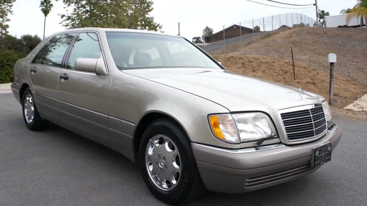 1995 mercedes benz w140 s420 s600 s500 v8 4 2l saloon 1 owner youtube