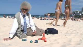 We're on Bondi Beach to discuss the ozone layer - a topic of great ...
