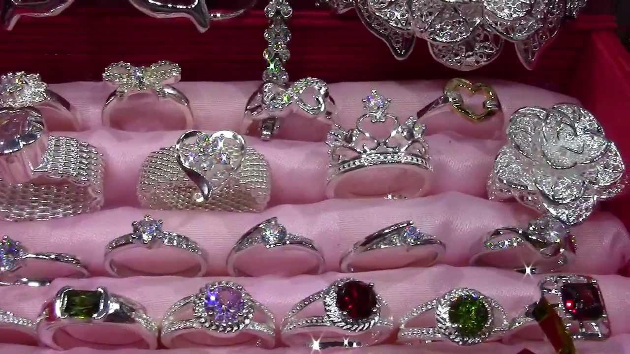 aab415ede2d7 Joyero de moda anillos pulseras cadenas collares colgantes joyas de plata  economicas
