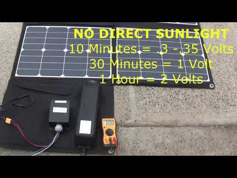 testing-ebike-300w-solar-panels-in-sunny-and-cloudy-days