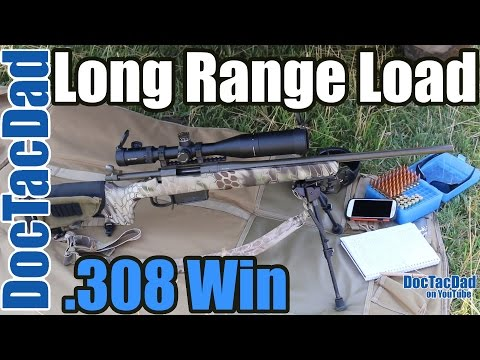 750, 650 Yard Shooting  308 Win - Load Development - Berger