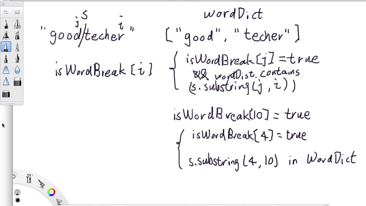 LeetCode 139  Word Break - GoodTecher
