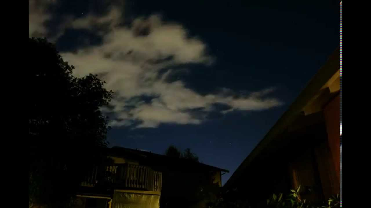 Starry Night Time Lapse (9-11-2012) - YouTube