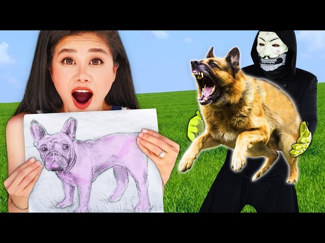 Whatever You Draw, I'll Buy It Challenge - Best at Drawing Wins Undercover as Best Friend Hacker PZ9